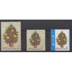 Belgique - 2007 - No 3717/3719 - Noël