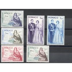 Monaco - Poste aérienne - 1960 - No PA73/PA78
