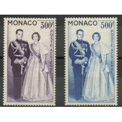Monaco - Poste aérienne - 1959 - No PA71/PA72