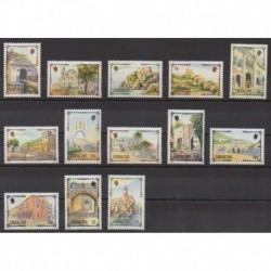 Gibraltar - 1993 - Nb 671/683 - Sights