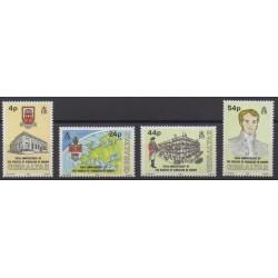 Gibraltar - 1992 - Nb 655/658 - Various Historics Themes