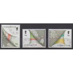 Gibraltar - 1992 - No 651/653 - Sports divers - Navigation