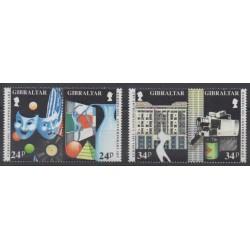 Gibraltar - 1993 - Nb 663/666 - Art - Europa