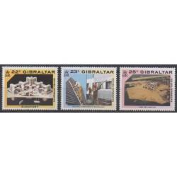 Gibraltar - 1990 - Nb 619/621