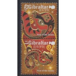 Gibraltar - 2013 - No 1524/1525 - Horoscope