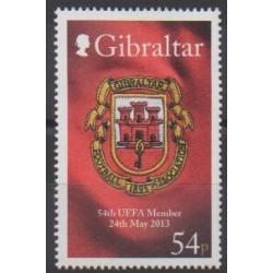 Gibraltar - 2013 - Nb 1546 - Coats of arms - Football