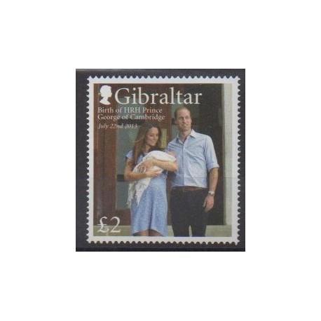 Gibraltar - 2013 - No 1567 - Royauté - Principauté