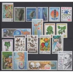 Wallis and futuna - Complete year - 1995 - Nb 472/484 - PA185/PA190