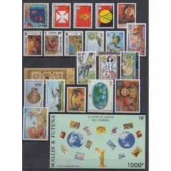 Wallis et Futuna - Année complète - 1997 - No 497/511 - PA197/PA202 - BF7