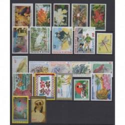 Wallis and futuna - Complete year - 1998 - Nb 512/528 - PA203/PA207