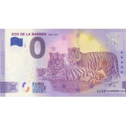 Euro banknote memory - 13 - Zoo de la Barben - 2020-1 - Anniversary