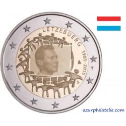 2 euro commémorative - Luxembourg - 2015 - 30ème anniversaire du drapeau européen - UNC