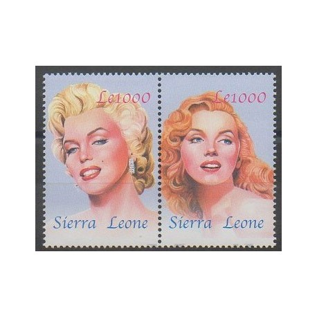 Sierra Leone - 2004 - No 3865/3866 - Cinéma