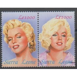 Sierra Leone - 2004 - No 3916/3917 - Cinéma