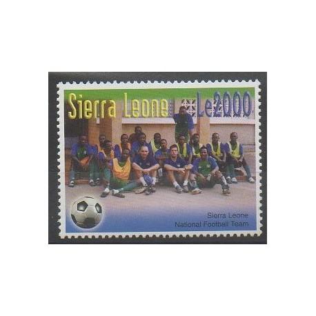 Sierra Leone - 2004 - No 3967 - Football