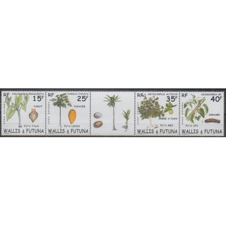 Wallis et Futuna - 2004 - No 618/621 - Fruits ou légumes