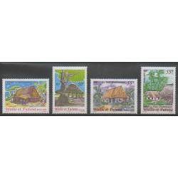 Wallis et Futuna - 2002 - No 571/574