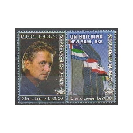 Sierra Leone - 2006 - No 4134/4135 - Célébrités