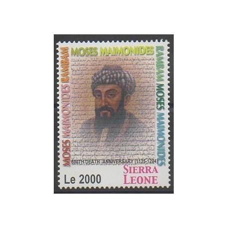 Sierra Leone - 2005 - No 4068 - Célébrités