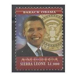 Sierra Leone - 2009 - No 4329 - Célébrités