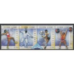 Sierra Leone - 2009 - No 4337/4340 - Sports divers - Philatélie