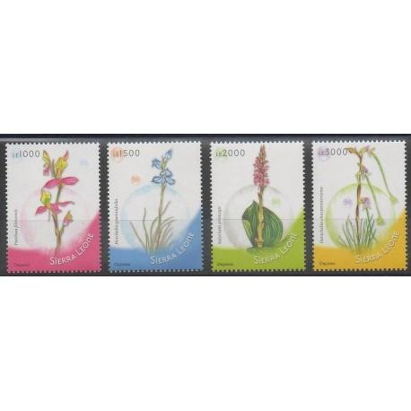 Sierra Leone - 2009 - No 4406/4409 - Orchidées