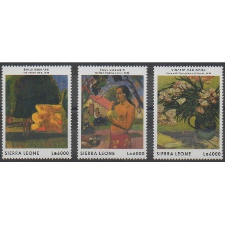 Sierra Leone - 2013 - No 4856/4858 - Peinture