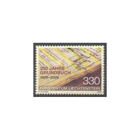 Liechtenstein - 2009 - No 1453 - Histoire