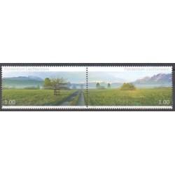 Liechtenstein - 2010 - No 1505/1506 - Sites