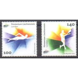 Liechtenstein - 2012 - No 1570/1571 - Jeux Olympiques d'été