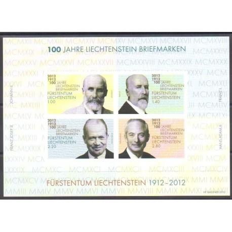 Liechtenstein - 2012 - No BF24 - Philatélie