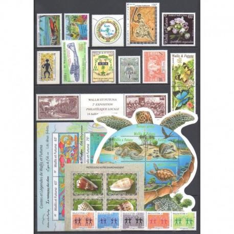 Wallis et Futuna - Année complète - 2005 - No 628/650 - BF19/BF20