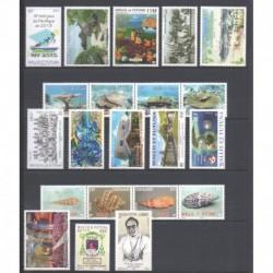 Wallis et Futuna - Année complète - 2012 - No 760/780