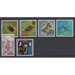 Wallis et Futuna - Année complète - 1974 - No 185/188 - PA56/PA57