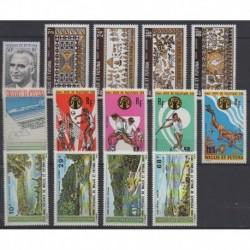 Wallis et Futuna - Année complète - 1975 - No 189 - PA58/PA70