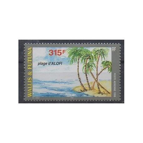 Wallis et Futuna - Poste aérienne - 1998 - No PA203 - Sites