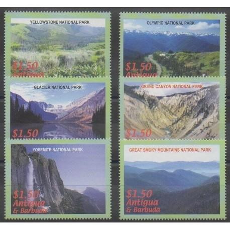 Antigua et Barbuda - 2006 - No 3694/3699 - Parcs et jardins