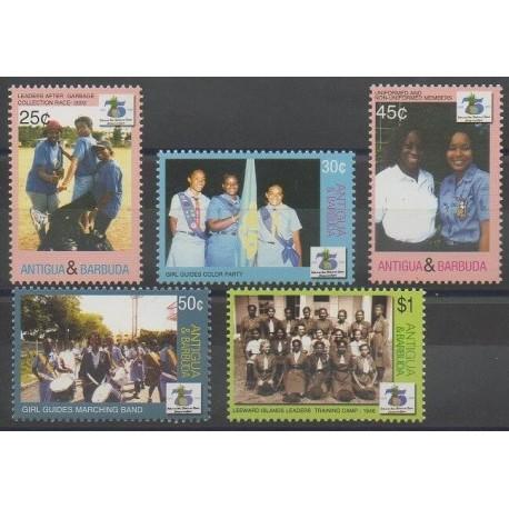 Antigua et Barbuda - 2006 - No 3717/3721 - Scoutisme