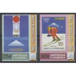 Antigua and Barbuda - 2006 - Nb 3733/3734 - Winter Olympics