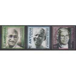Antigua et Barbuda - 2006 - No 3800/3802 - Célébrités