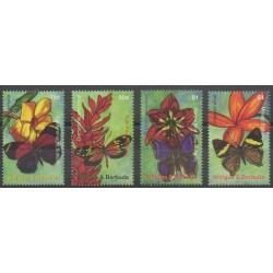 Antigua et Barbuda - 2007 - No 3808/3811 - Fleurs