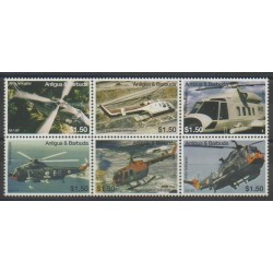 Antigua et Barbuda - 2007 - No 3853/3858 - Hélicoptères