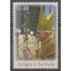 Antigua and Barbuda - 2007 - Nb 3871 - Pope