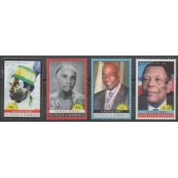 Antigua and Barbuda - 2008 - Nb 3898/3901 - Celebrities