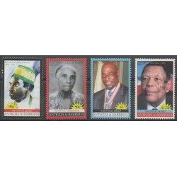 Antigua et Barbuda - 2008 - No 3898/3901 - Célébrités