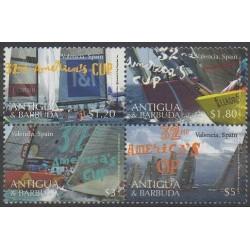 Antigua and Barbuda - 2008 - Nb 3906/3909 - Boats - Various sports