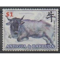 Antigua et Barbuda - 2009 - No 3969 - Horoscope