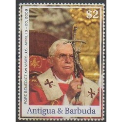 Antigua and Barbuda - 2008 - Nb 3913 - Pope