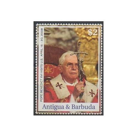 Antigua et Barbuda - 2008 - No 3913 - Papauté