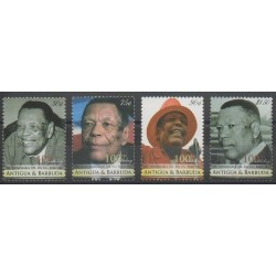 Antigua and Barbuda - 2009 - Nb 4013/4016 - Celebrities
